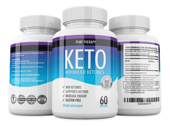 Pastillas Keto Advanced Original- Bhb - Suple Ketosis
