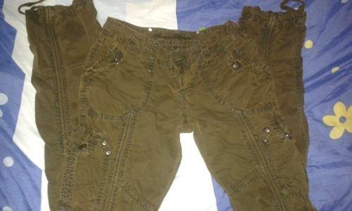 Pantalon De Vestir Cargo Casual