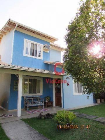 Casa Com 4 Dormitórios À Venda, 183 M² - Extensão Do Bosque - Rio Das Ostras/rj - Ca0897