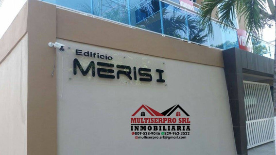 Se Vende Ultimo Nivel Con Azotea Privada Edif. Meris I, S,c.