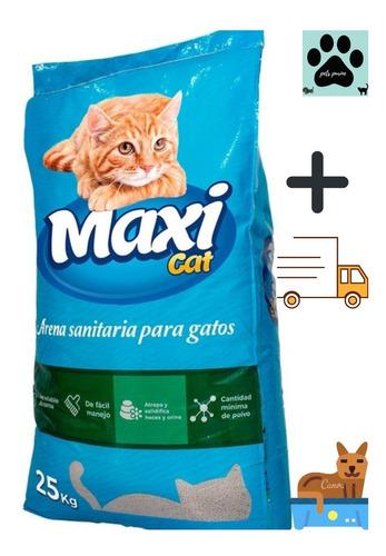 Arena Maxi Cat 25 Kg + Envió