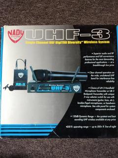 Nady Wireless Reciver Uhf-3