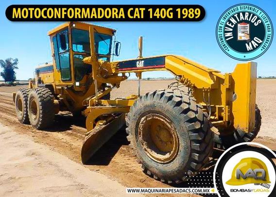 Motoconformadora Cat 140g 1989 Caterpillar