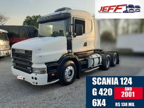 Scania 124  G 420 6x4 2001