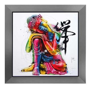 Litografía Buda Carre Enmarcado