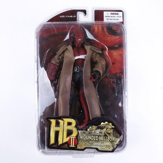 Figura Hellboy 2 Mezco Boneco Action Do Jogo Ação Promoção