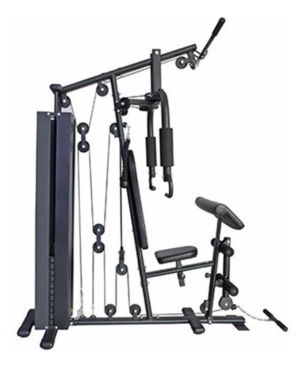 Multigimnasio Randers Multigym Arg-63167 Incluye Pesas 100kg
