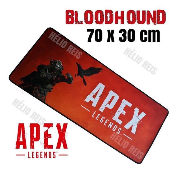 Mouse Pad Gamer Apex Legends - Lenda Bloodhound - 70 Cm