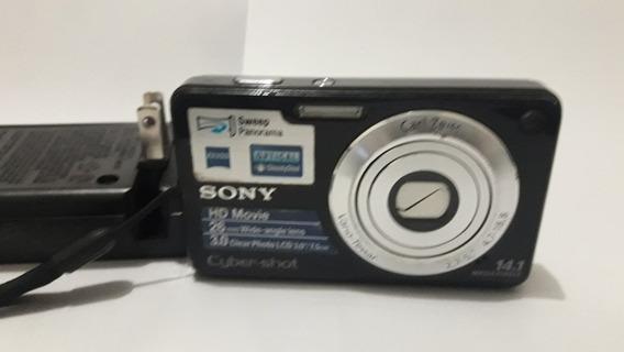Camera Digital Sony 14.1 Cyber-shot Com Carregador