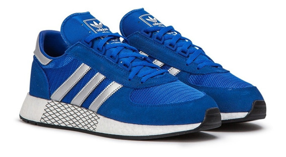 Tênis adidas Marathon X 5923 Blue Silver.