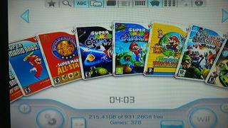 Juegos Wii Disco Duro Mario Galaxy Donkey Just Dance Y Mas