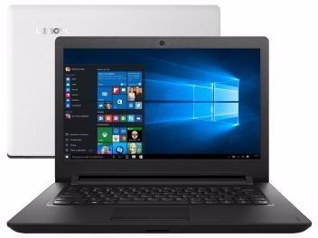 Notebook Lenovo Ideapad 110 Intel Dual Core - 4gb 500gb Led