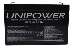 Bateri 6v 7,2ah Para Moto Eletrica