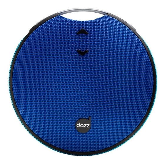 Caixa De Som Dazz Versality, Bluetooth, 7w, Azul - Nova