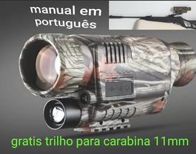Monoculo Visão Noturna 5x40trilho 11mm Bateria Original 8gb