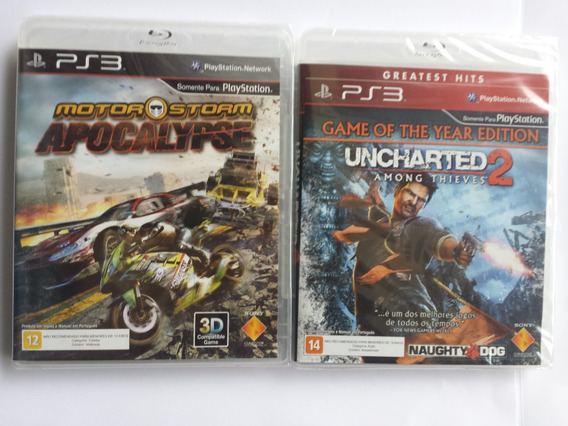 Motorstorm Apocalypse (3d) +++ Uncharted 2 { Ps3 }
