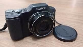 Câmera Dsc H20 Apenas Com O Sensor Placa Queimado!