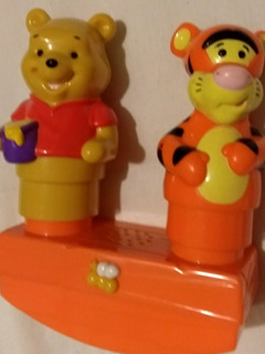 Mega Bloks Pooh Tigger Musical Disney