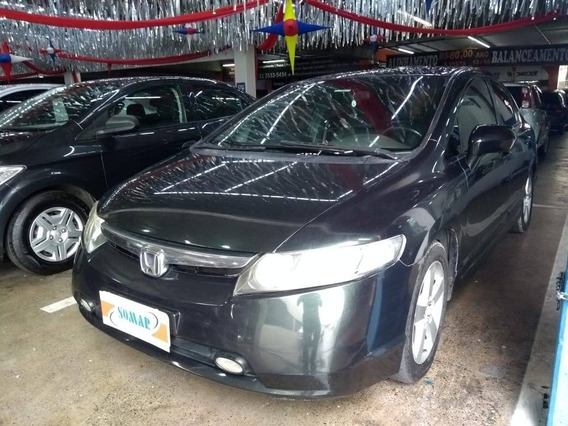 Honda Civic 1.8 Lxs 16v Flex 4p Manual Sem Entrada