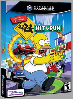 Juegos,simpsons Hit And Run - Gamecube