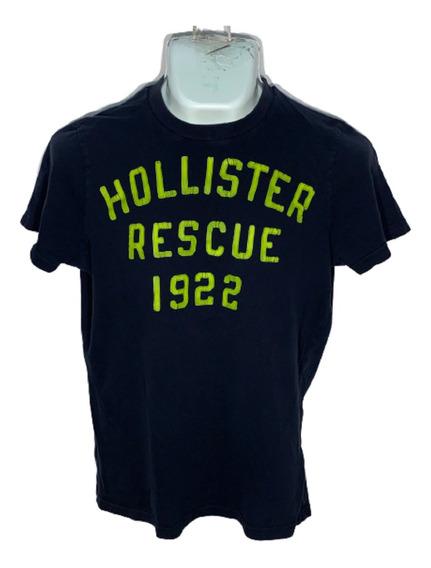 I Playera M Hollister Id D370 Usada Detalle Hombre 4x3 O -10