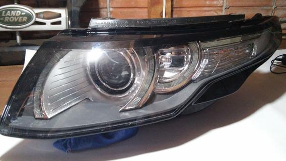 Farol Land Rover Evoque Dynamic Lado Esquerdo Com Xenon