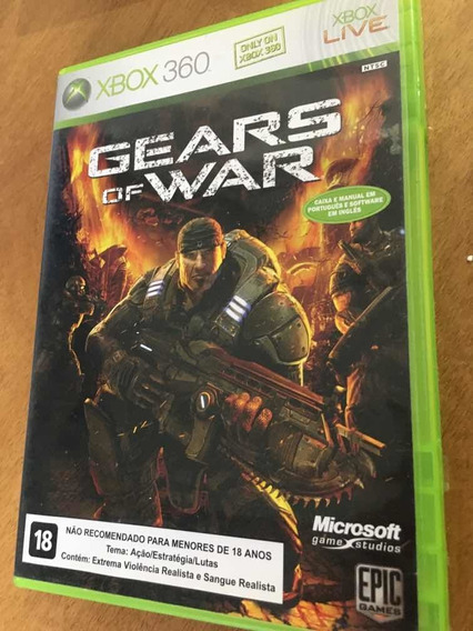 Gear Of War I - Xbox360 (mídia Física)