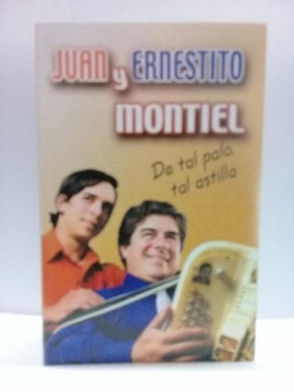 Cass Juan Y Ernestino Montiel(lote De 50 Cass Nuevos )