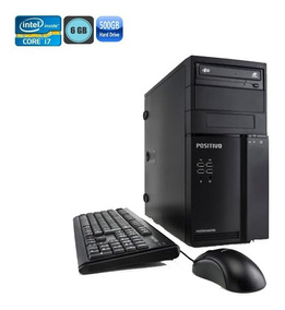 Pc Positivo Master D360 I7-3770 6gb Hd500gb Kit Tecl E Mouse