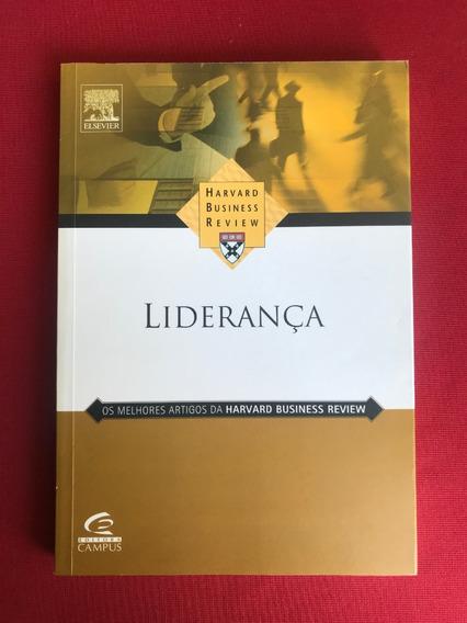 Livro - Liderança - Harvard Business Review - Seminovo