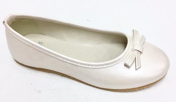 Zapatos-balerina-chatita P/nenas N°32 Al 40 Mundo Ukelele
