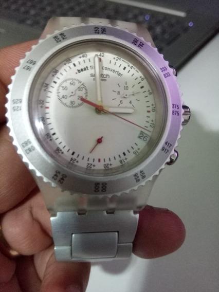 Exclusivo Swatch Wayfarer Irony Diaphane Patented Svbk4001ag
