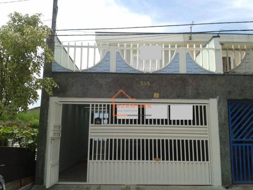 Sobrado Com 3 Dormitórios À Venda, 150 M² Por R$ 480.000 - Jardim Nossa Senhora Do Carmo - São Paulo/sp - So0031