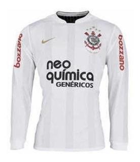 Camisa Corinthians Centenário 2010 Manga Longa Nike Original