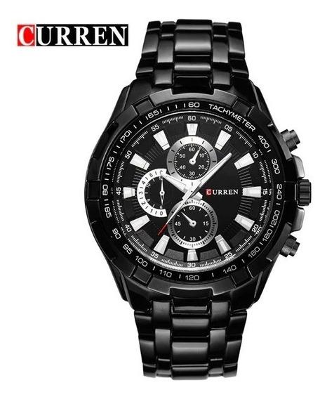 Relógio Masculino Curren 8023 2019 Luxo Original Lançamento