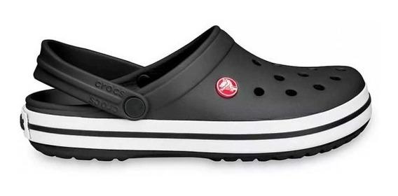 Crocs Crocband Negro Black Original Envio Gratis