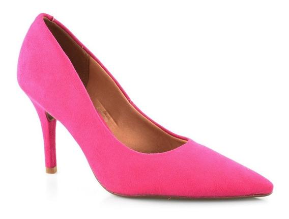 Scarpin Pink Salto Alto Bico Fino Vizzano 1184113 | Baby