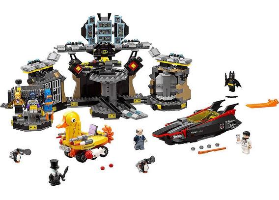 Lego Batman 1098+peças Filme A Invasão A Batcaverna Lego