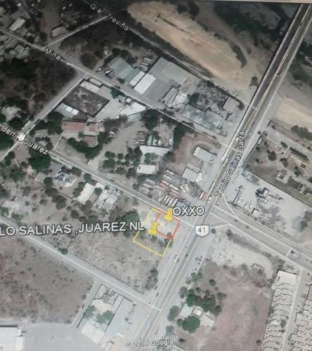 Imagen 1 de 1 de Terreno En Renta  Sobre Ave Teofilo Salinas En Centro De Juarez,nl.