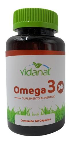 Omega 3 Puro Vidanat 60 Tabletas Envio Full