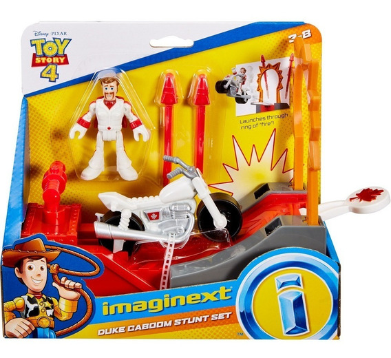 Fisher Price Imaginext Toy Story 4 Pista Duke Caboon Mattel