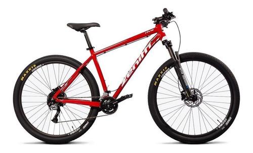 Imagen 1 de 2 de Mountain bike Zenith Bicycles Off Road Series Riva Comp R29 M 18v frenos de disco hidráulico cambios Shimano Alivio M4020 y Shimano Acera M3000 color rojo