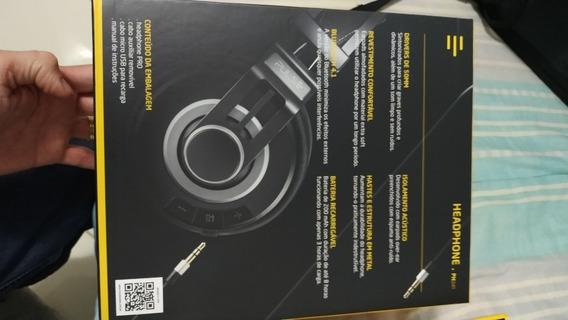 Fone De Ouvido Bluetooth Pulse Ph241 Preto Garantia 2 Anos