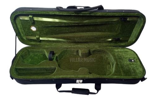 Imagem 1 de 7 de Case Marquês Ej12 Para Violino Retangular Preto 4/4
