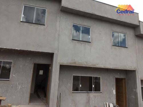 Sobrado Com 3 Dormitórios À Venda, 110 M² Por R$ 380.000,00 - Parque Olimpico - Mogi Das Cruzes/sp - So0527