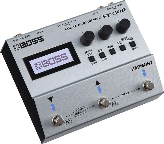 Boss Ve-500 Vocal Performer Multi Efectos Para El Vocalista