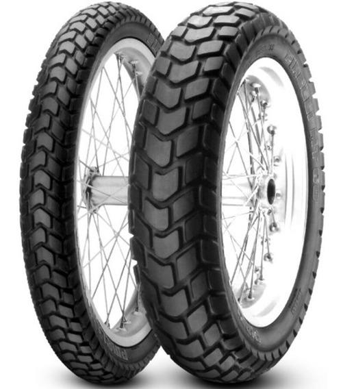 Par Pneu Bros 160 Xtz 150 110/90-17 + 90/90-19 Mt60 Pirelli