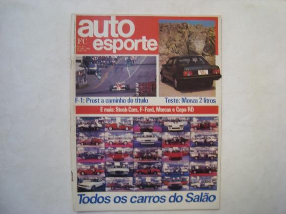 Revista Auto Esporte N. 262 - Todos Os Carros Do Salão