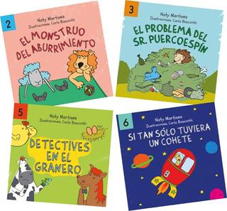 4 Libros A Elección De La Colección Ecotoys Ondulé