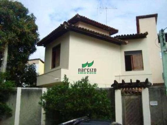 Casa Com 3 Dormitórios(2 Suítes) À Venda, 168 M² Por R$ 550.000 - Itapuã - Salvador/ba - Ca0256